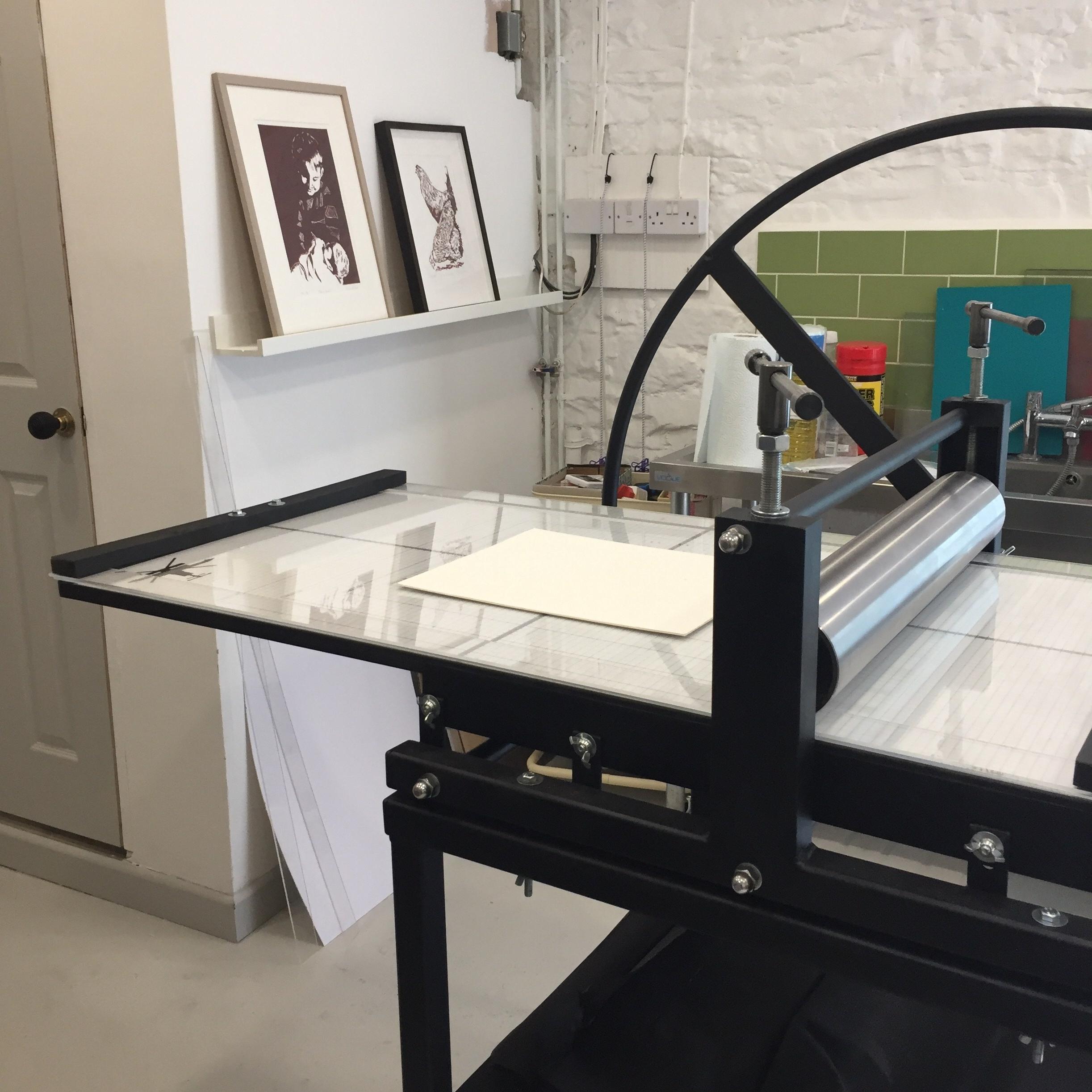 Skirrid Print Studio: 'Dolly'