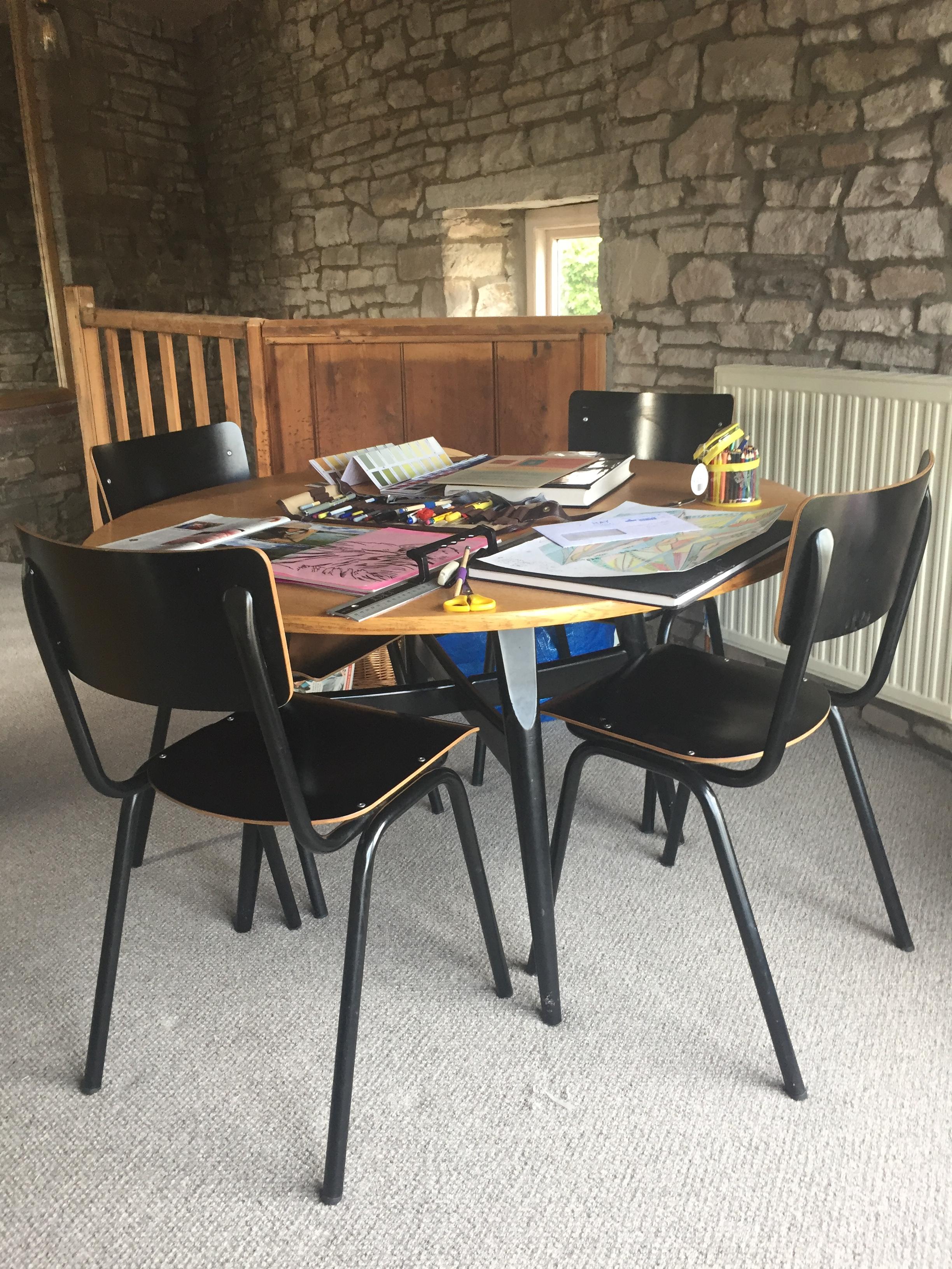 Photo of Skirrid Print Studio design area